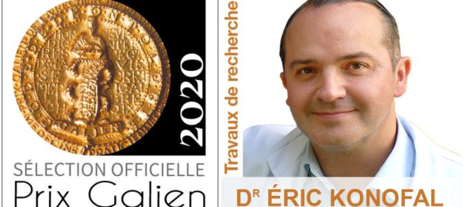 Eric Konofal sélectionné pour le Prix Galien 2020